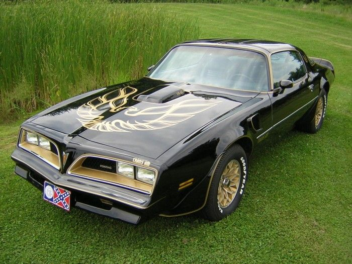 1978 trans am Great car, until the plastic started to go.  Miss the ride.