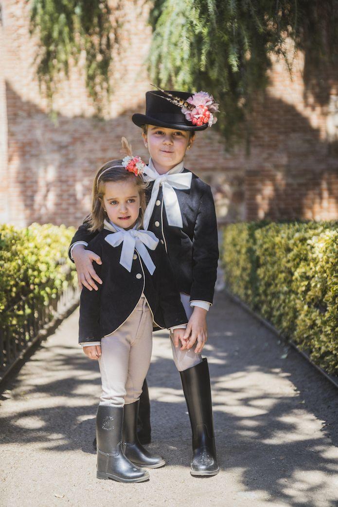 niñas arras pantalon hipica blog primera comunion