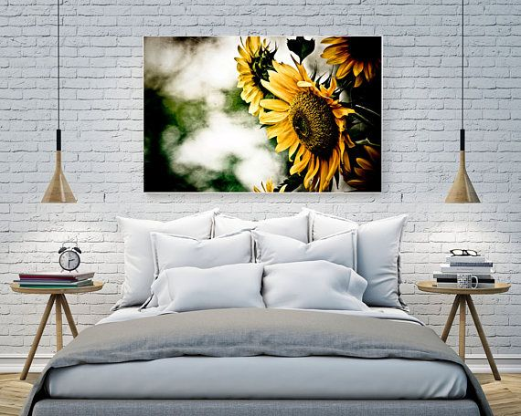Printable Wall Art - The Silent Sunflower, South Africa, Original Photography print
