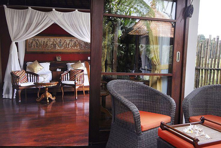 Klungkung house bedroom at Villa Bayad Ubud
