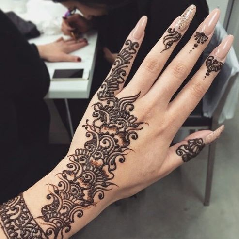 17 Best Images About Henna Tattoos  Harkous  Mehndi On