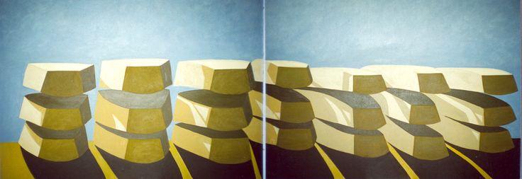 2001 280 x 100 olej/płótno  kolekcja