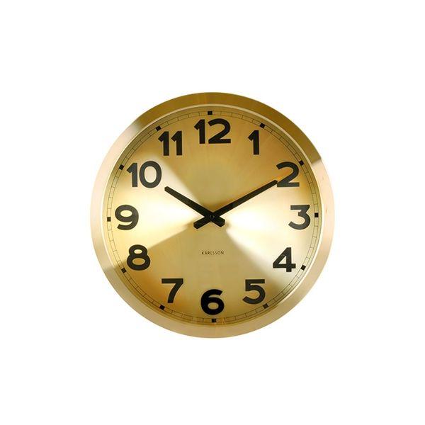 Present Time Horloge Karlsson – Or