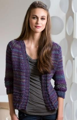 A simple cardigan can be one of the most versatile complementary pieces in your wardrobe. The Moon Shadows Cardigan will be a great addition to any outfit. Depending on your yarn choice, you can easily wear this knit sweater pattern in any season.