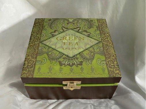 elizabetha / Krabička na čaj - Green Tea