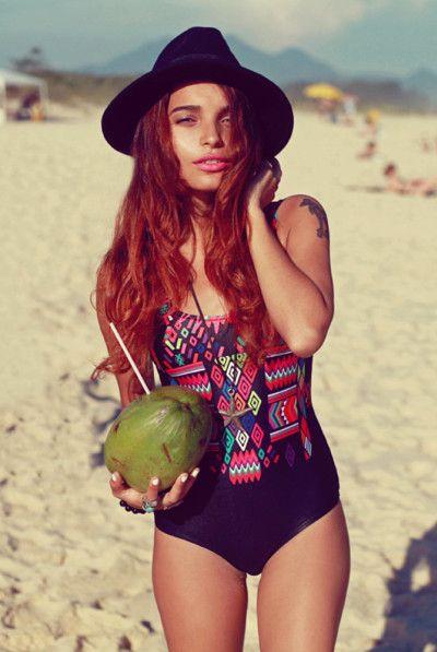 swimwear and beach style