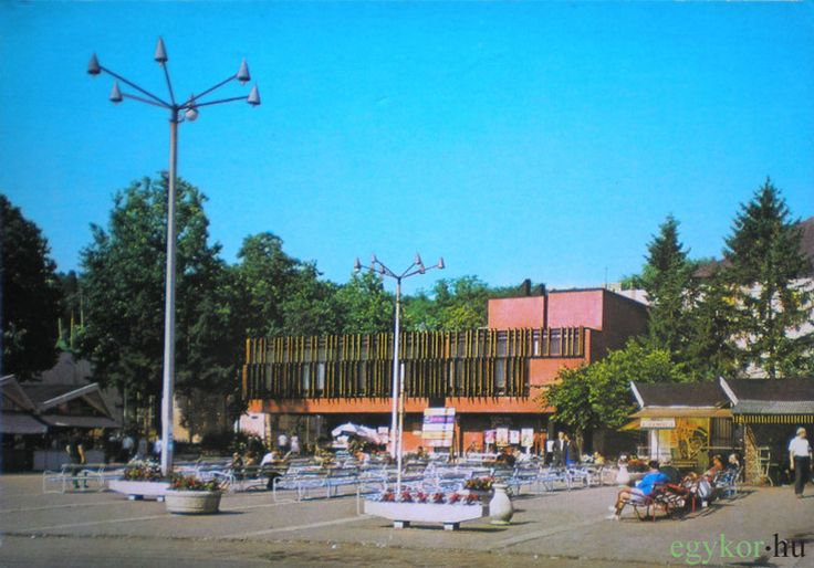 Rózsakert étterem, eszpresszó, bár, Erzsébet királyné u. 8, 1981