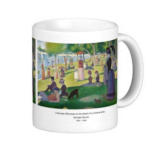 ジョルジュ・スーラ『 グランド・ジャット島の日曜日の午後 』のマグカップ