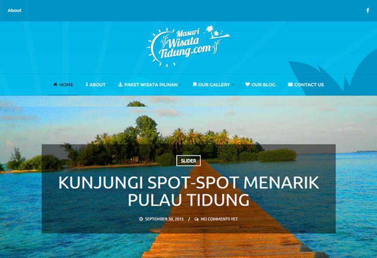 Masuriwisatatidung - Portfolio Web Travel