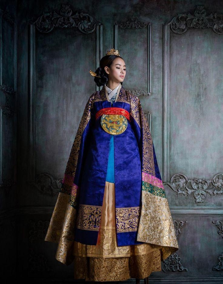 Korean traditional clothes.dress. hanbok