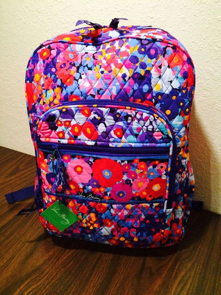 Vera Bradley Campus Backpack OMG I Want This As My School