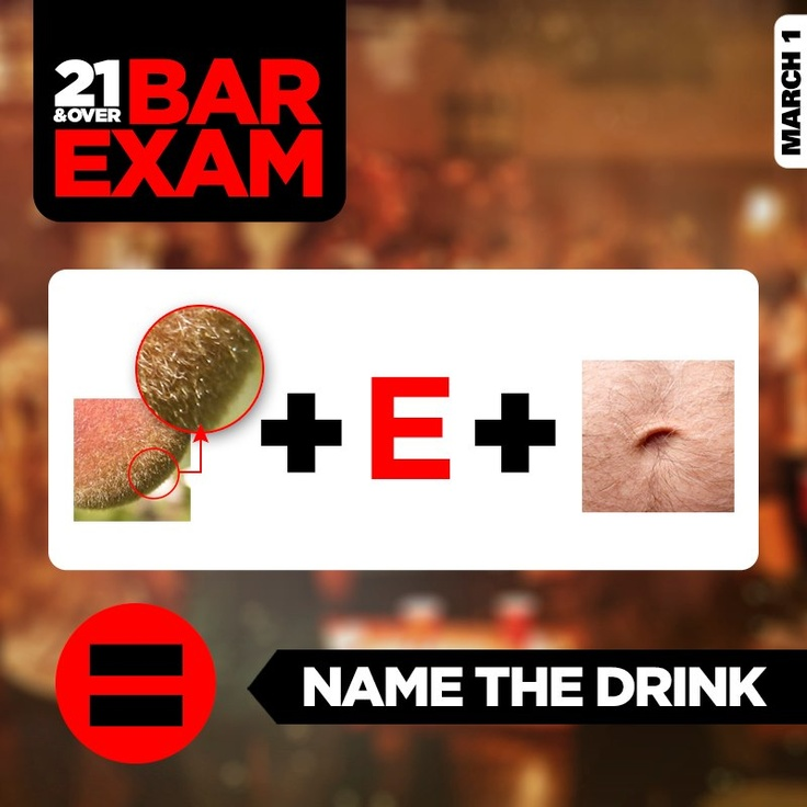 The kind of exam where being sober is like cheating. 21 & Over