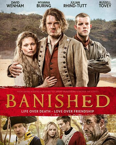 BBC2 series Banished is set in Australia during the 1780s.