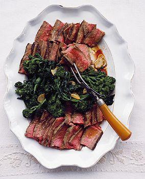 Florentine-Style Porterhouse Steaks (on the grill)