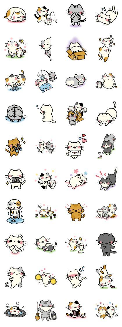 nyankoro-san.2 - LINE Stickers dos criadores