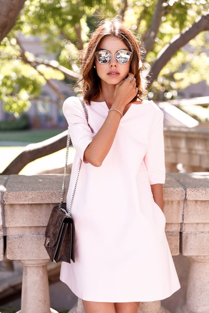 25  best ideas about Baby pink dresses on Pinterest | Dress ...