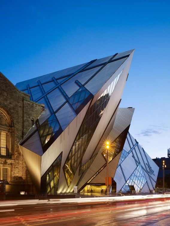 Top 12 Unusual Buildings around the world - Royal Ontario Museum – Canada