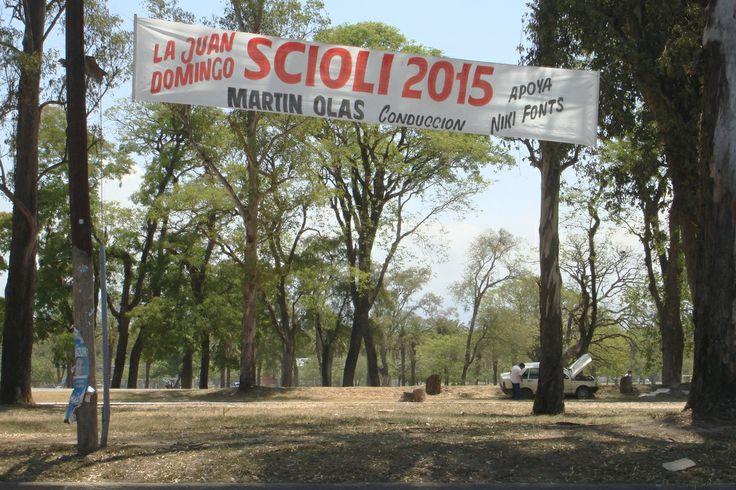 Sala de Prensa de la Agrupación La Juan Domingo: proyecto Scioli 2015