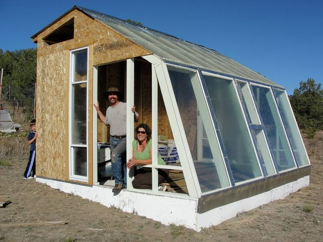 Diy greenhouse food 365 days a year without supplemental for Diy micro greenhouse