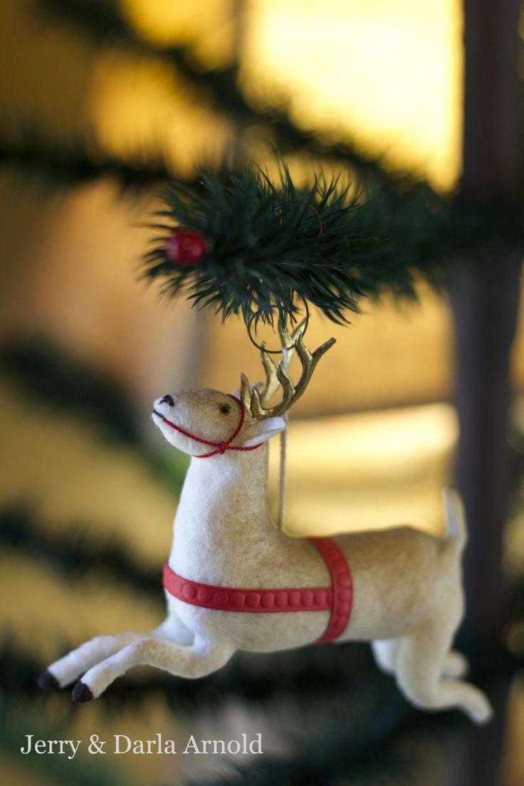 A wonderful spun cotton ornament by Jerry & Darla Arnold