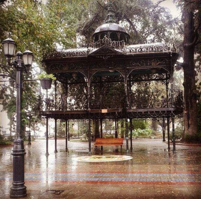 Lluvia en curicó...