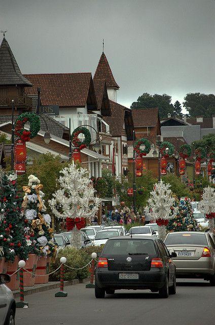 Christmas in Gramado, Rio Grande do Sul, Brazil