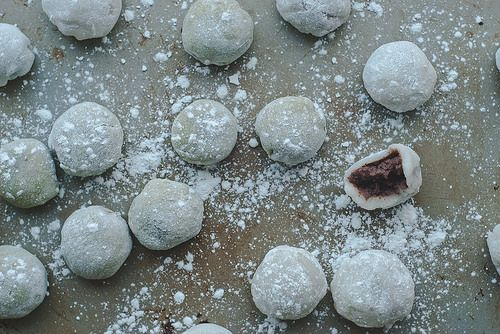 Red Bean Mochi by Two Red Bowls, via Flickr