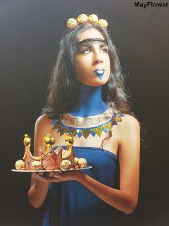 Royal Chocolate / Creative&Etnic Makeup / MayFlowerBlog /   #makeup
