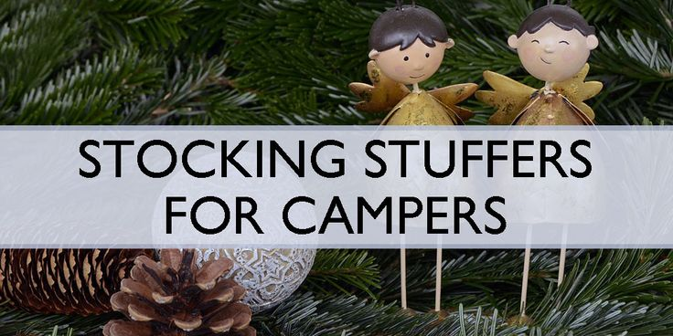 Stocking Stuffers for Campers