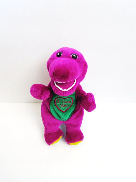 Barney The Dinosaur I Love You Singing Plush by TimelessToyBox