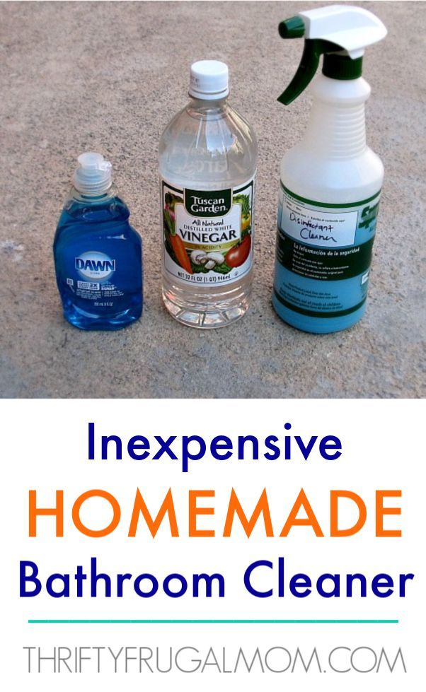 This homemade bathroom cleaner is made from just 2 ingredients, yet super effective! It'll save you money and help you avoid using chemical laden ...