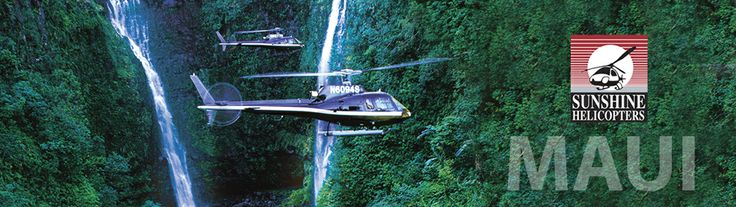 Hawaii Maui Kauai Helicopter Tour; Circle Island Deluxe, 60-70min, $310-460pp