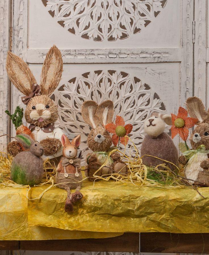 Optimistic amarillo! Optimistic yellow! Sunshine colors - Rabbit decorations - Easter is here!