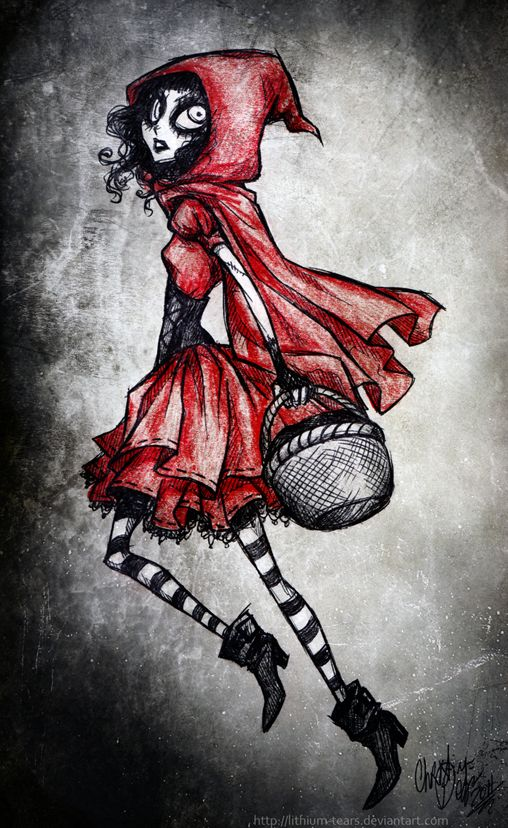 Little Red Riding Hood by Lithium-Tears.deviantart.com on @deviantART