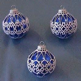 Image result for Tatting Patterns for Christmas Balls