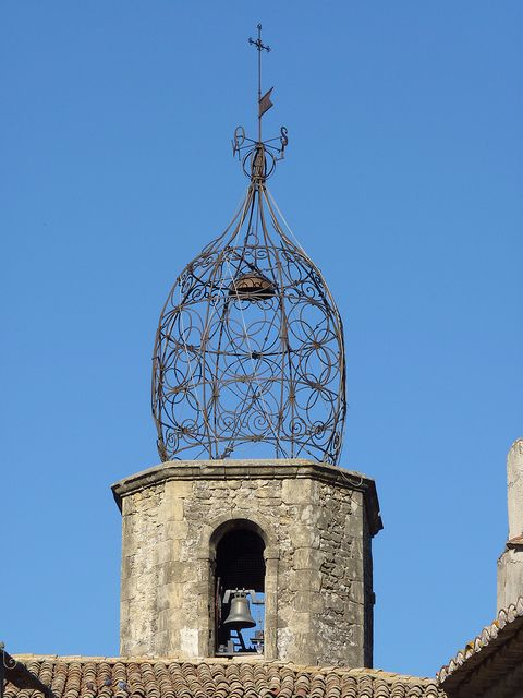 Lauris church bell tower, Provence