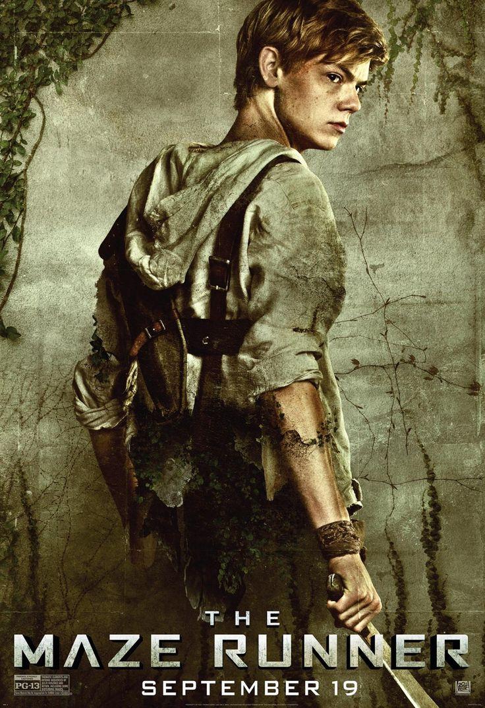 MAZE RUNNER: New character posters | Newt