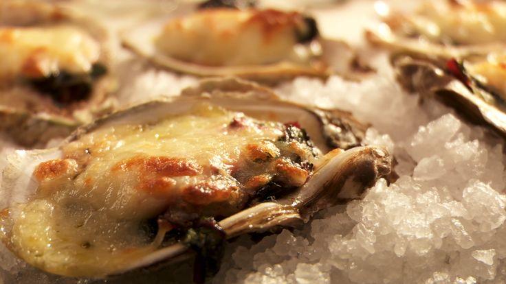 Huîtres farcies et gratinées