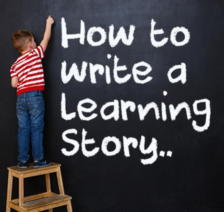 Programming and Planning Resources for Early Childhood Educators - How to write your Learning Story