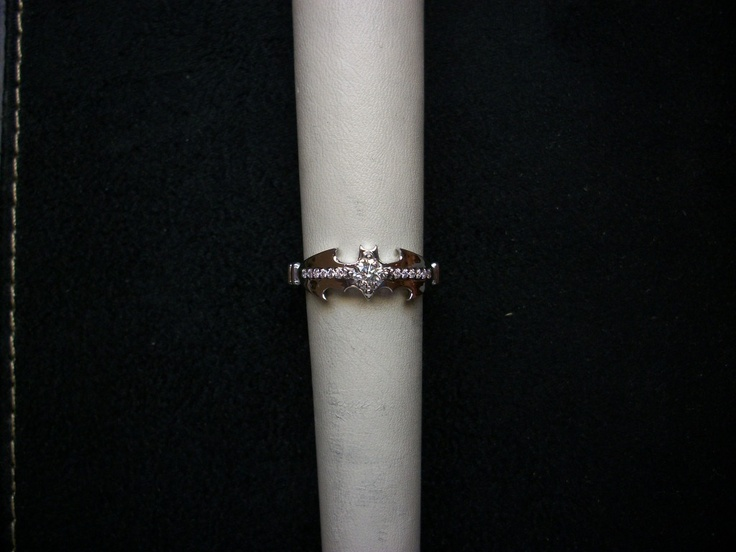 BATMAN ENGAGEMENT RING? I feel like I should find this more funny and less like a valid ring option than I do.