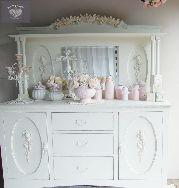 17 best ideas about shabby chic buffet on pinterest white buffet table white buffet and chalk. Black Bedroom Furniture Sets. Home Design Ideas