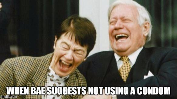 Nun lachen sie wieder zusammen.....