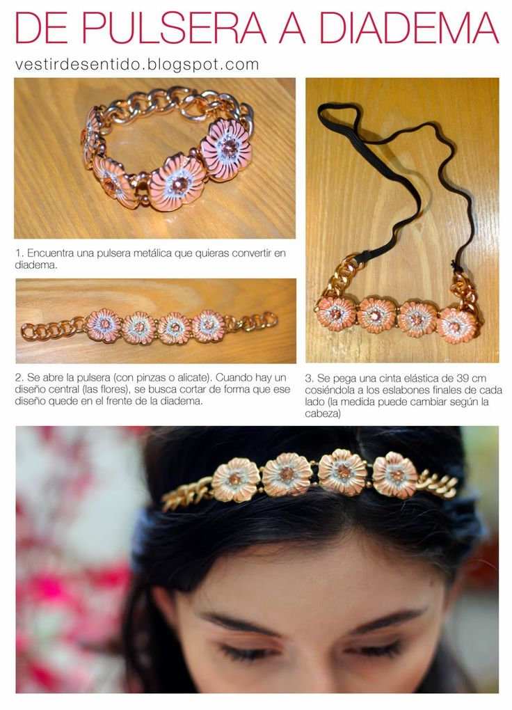 25 best ideas about como hacer diademas on pinterest - Como hacer diademas para bebes ...