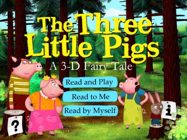 Interactive in unique and fun ways, this version of The Three Little Pigs is sure to please.