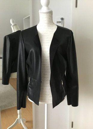 Kaufe meinen Artikel bei #Kleiderkreisel http://www.kleiderkreisel.de/damenmode/lederjacken/137759686-only-kunstlederjacke-schwarz-grosse-44-neu