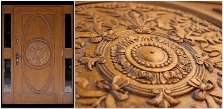 Drewniane drzwi zewnętrzne: dębowe, na wymiar i inne