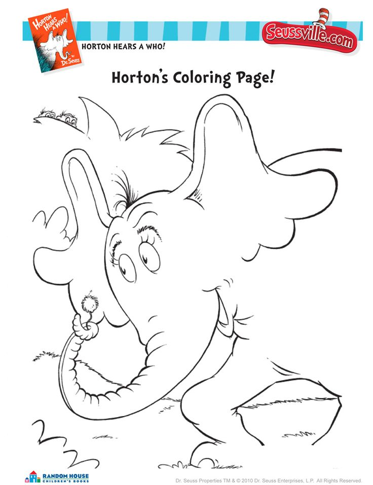 17 Best Images About Good Reads On Pinterest Summer Seussville Coloring Pages