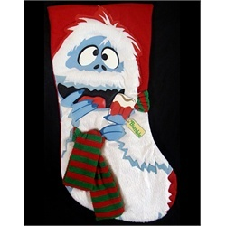 """18"""" Rudolph the Red Nosed Reindeer Bumble Abominable Snowman Christmas Stocking"""