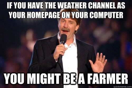 Or if you have more weather stations than a meteorologist....Lmfao
