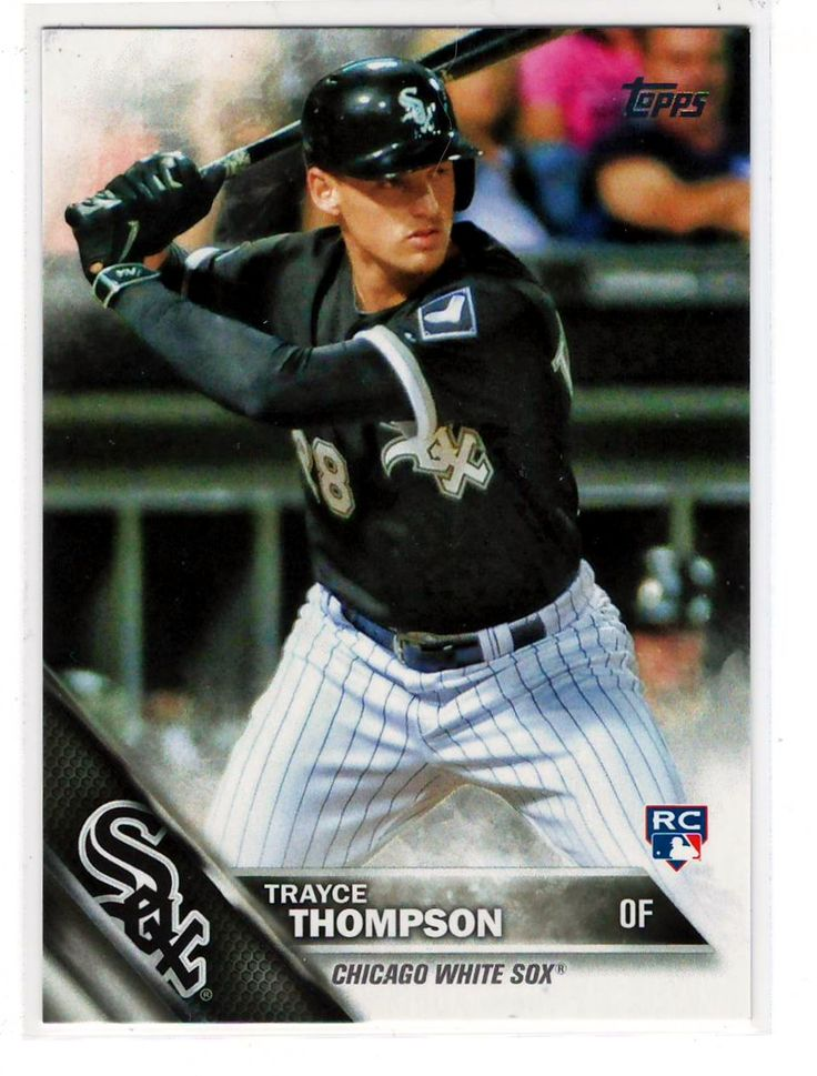 Trayce Thompson 2016 Topps Rookie – White Sox Baseball Sports Cards .. $0.20